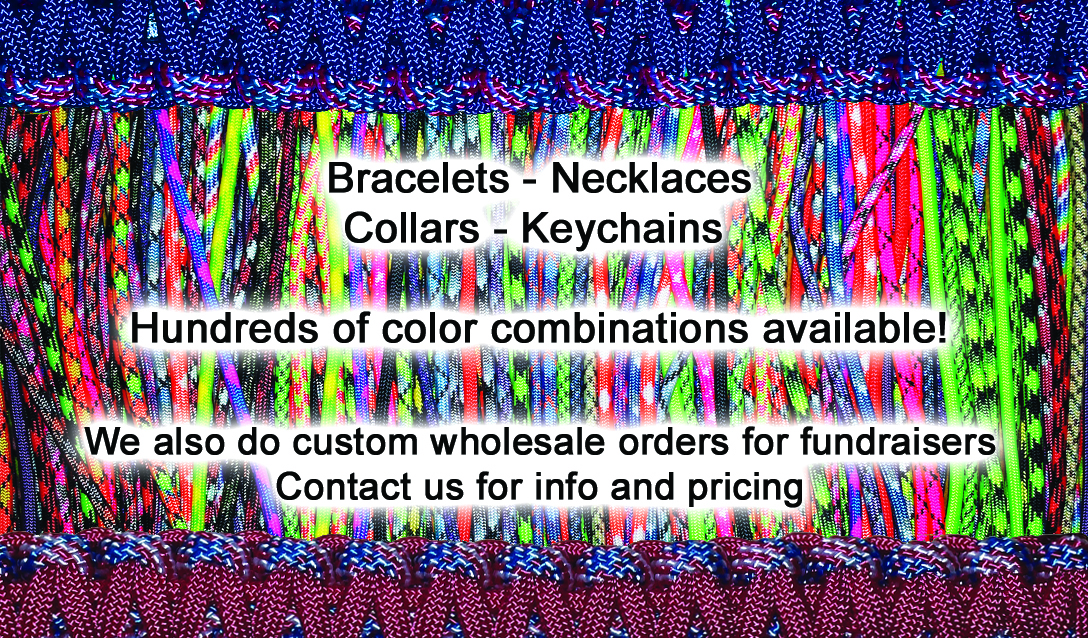 Twisted Paracord Business Card